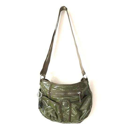 Kipling Handbags - Kipling crossbody olive green bag